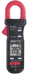CLAMP METER 600A AC WITH DUAL SCREEN VOLTS & AMPS