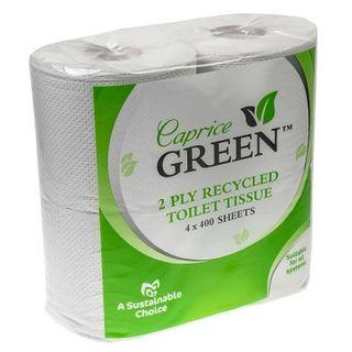 Toilet Tissue 2ply 400 sht recyc 48
