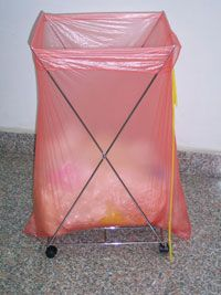 Fully Soluble Laundry Bag Red  200