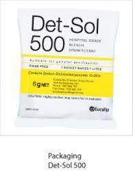 Det-Sol 500 Disinfectant Sachet 6g each