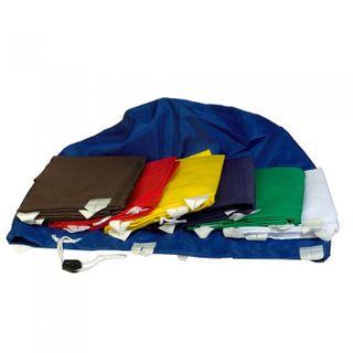 Polyester Laundry Bag BLUE ea