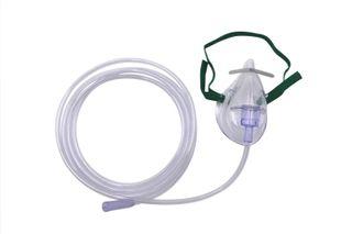 Mask Oxygen Adult Med Conc +2.1m tube