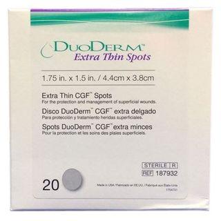 Duoderm X-Thin Oval Spot 20