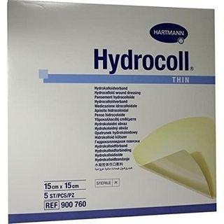 Hydrocoll Thin 15cmx15cm 5