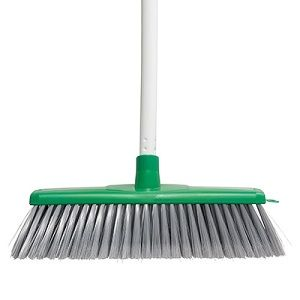Broom Classic Plus Indoor Oates GREEN ea