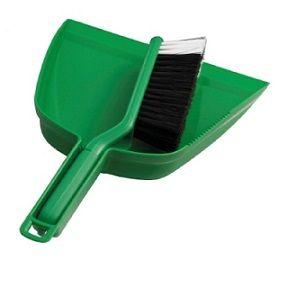 Dust Pan Set Oates GREEN ea