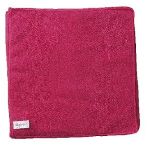 Microfibre Cloth Oates RED 10