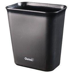 Desk Bin Oates 10L Black each