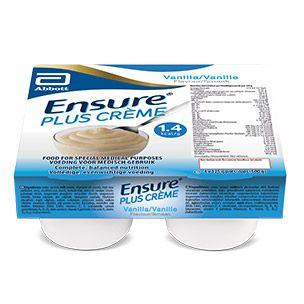 Ensure Plus Creme Vanilla 125gm x 4