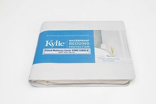 Kylie Fitted Mattress Cover King Sgle ea