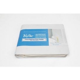 Kylie Fitted Mattress Cover Queen XL ea
