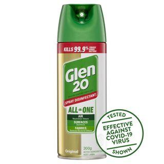 Glen 20 Disinfectant Spray Original Scent 300g ea