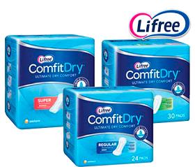 Lifree Comfit Dry Light 360