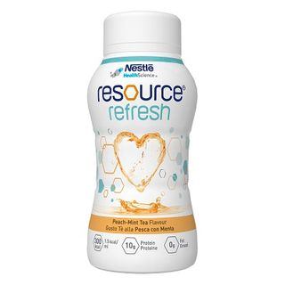 Resource Refresh Peach Mint Tea 200ml 24