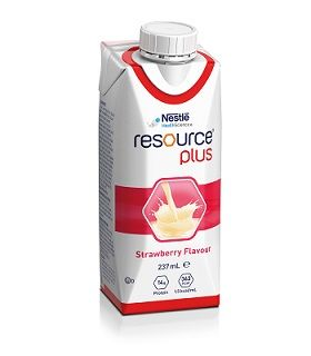 Resource Plus Strawberry 237ml 24