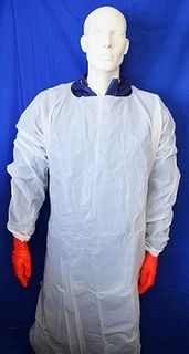 Gown Impervious Long Sleeve White 50
