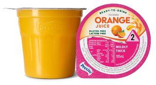 Precise Level 2  Orange Juice 185ml 12