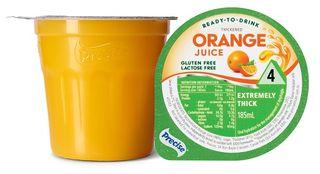 Precise Level 4  Orange Juice 185ml 12