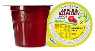 Precise Level 3 Apple & Raspberry Juice 185ml 12