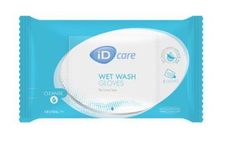 ID Care Wash Gloves 8x24