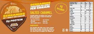 Screamies No Melt Ice Cream Salted Caramel 12
