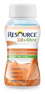 Resource 2.0 Fibre Apricot 200ml 24