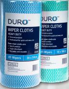 Duro Wiper Rolls H'Duty Green 50cmx30cm 85