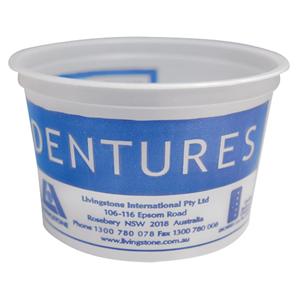 Denture Cup Plastic 50
