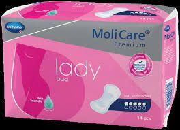 MoliCare Premium Lady Pad 5 drops 168