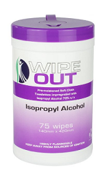 Ultrahealth WipeOut Alcohol Cannister 75