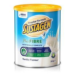 Sustagen Plus Fibre Vanilla 840g 6