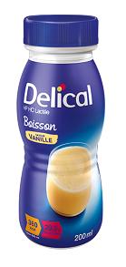 Delical Milk Oral Clinical Nut Vanilla 200ml 24