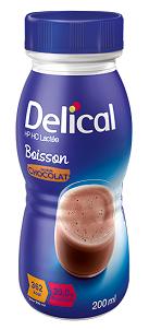 Delical Milk Oral Clinical Nut Choc 200ml 24