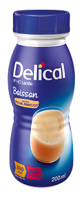 Delical Milk Oral Clinical Nut Peach Apricot 200ml 24