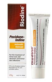 Povidone Iodine Riodine Ointment 25g ea
