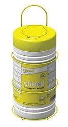 Bracket Clinell Wipe Tub 100 Yellow ea