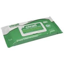 Wipe Clinell Disinfectant Universal 40pk