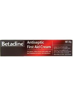 First Aid Cream Betadine 20gm ea