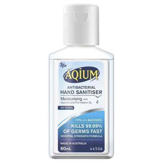 Antibacterial Gel Aqium 60ml 70% ea