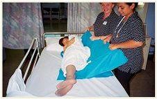 Slide Sheet Confident Care 195x145cm ea