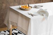 Table Cloth WHITE 137x137cm ea