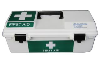 First Aid Kit Hard Case Lge ea