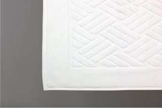 Jubilee Bath Mat White