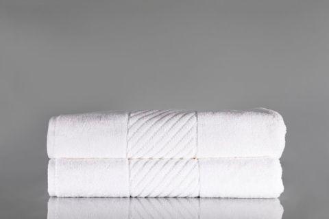 Jubilee Bath Towel White