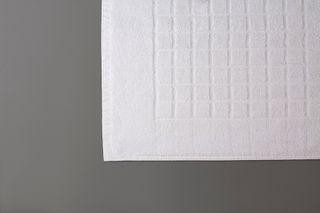 Tiles Bath Mat White