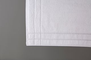 Shuttleless Bath Mat White