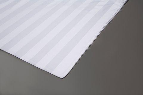 Jubilee Sateen 3cm Stripe Pillow Case