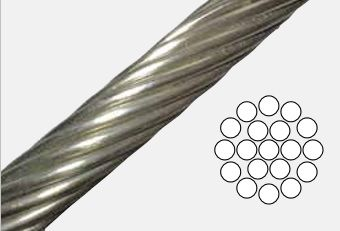 1 x 19 Stainless Steel Wire