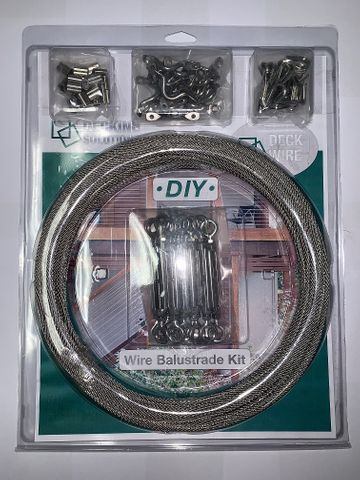 DIY Wire Balustrade Kit