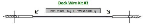Deck Wire - Pre Swaged Kit 3